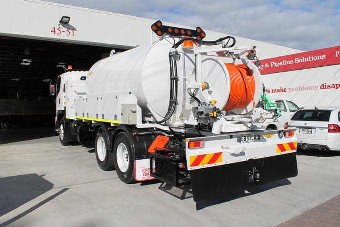 hydro excavation truck for sale