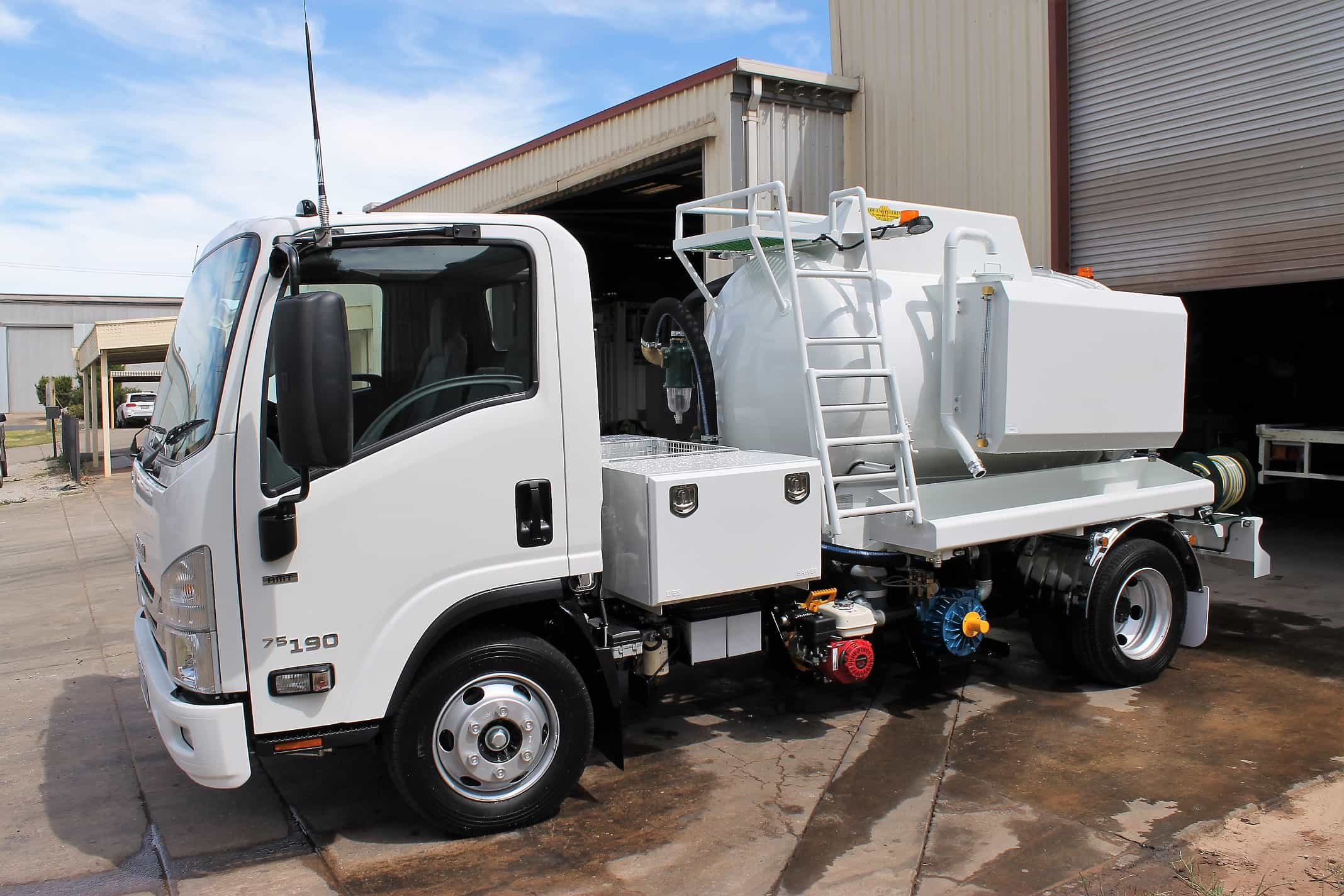 vacuum trucks for sale Australia